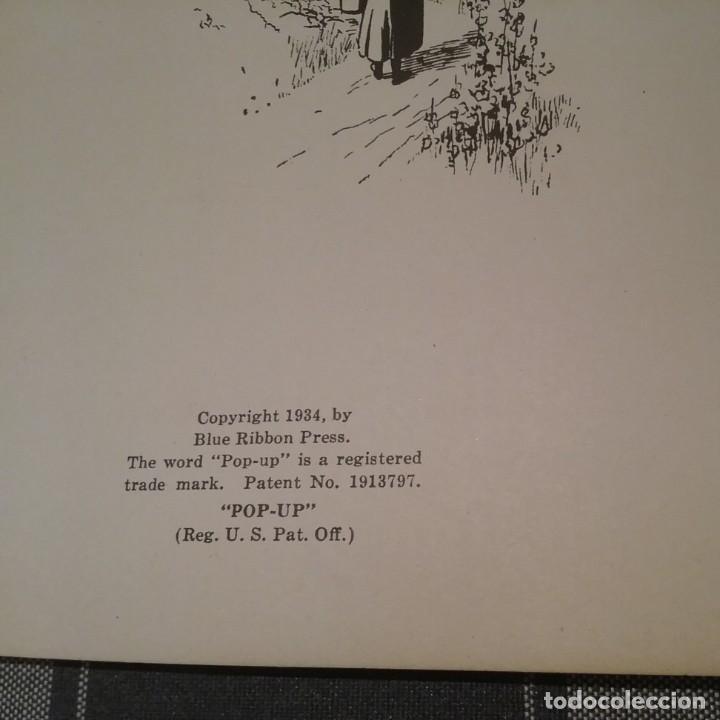 Libros antiguos: POP UP BOOK CAPERUCITA ROJA 1934 INGLES - Foto 11 - 213774498