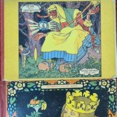 Libros antiguos: EL SOL DE LA HERMOSURA. EL SALTAMONTES Y EL REY GLOTON. EDIT. MUNTAÑOLA. 1919.. Lote 213857196