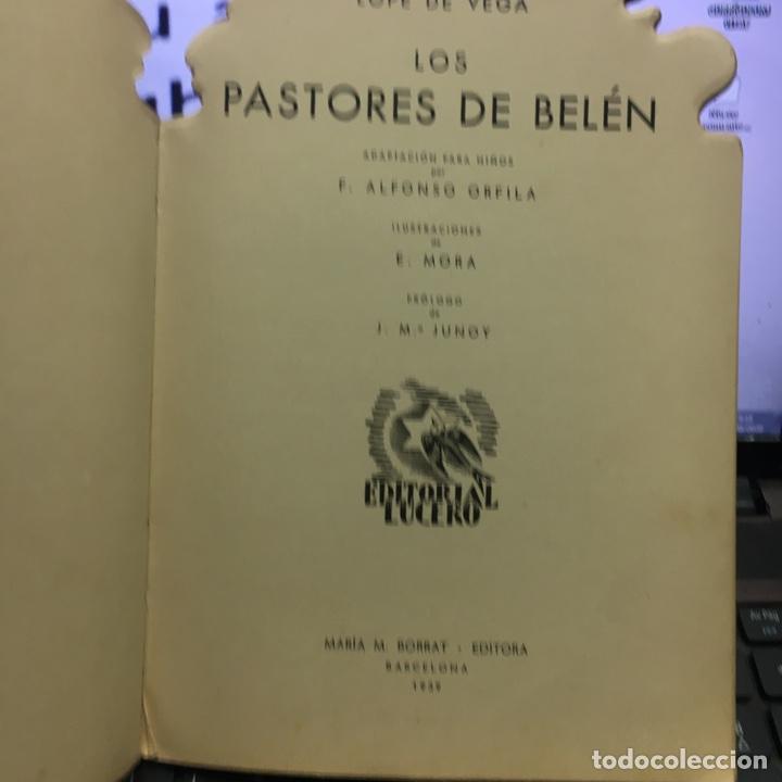 Libros antiguos: LOPE DE VEGA LOS PASTORES DE BELEN -TROQUELADO- - Foto 2 - 107771916