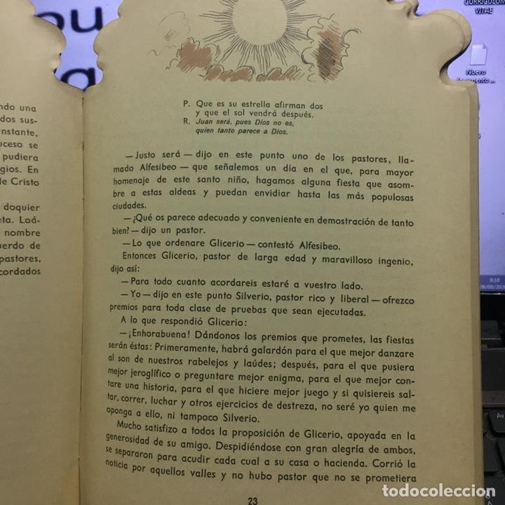 Libros antiguos: LOPE DE VEGA LOS PASTORES DE BELEN -TROQUELADO- - Foto 3 - 107771916