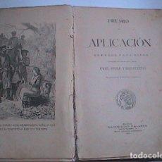 Libros antiguos: PREMIO DE APLICACIÓN. CUENTOS PARA NIÑOS. 1903. SATURNINO CALLEJA.. Lote 214047453