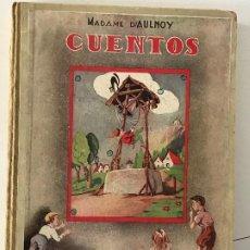 Libros antiguos: MADEMA D'AULNOY CUENTOS EDITORIAL MAUCCI. Lote 214084918