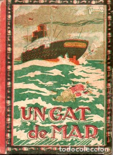 MANEL MARINEL.LO . UN GAT DE MAR (VARIA, C. 1930) (Libros Antiguos, Raros y Curiosos - Literatura Infantil y Juvenil - Cuentos)