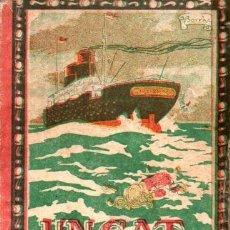 Libros antiguos: MANEL MARINEL.LO . UN GAT DE MAR (VARIA, C. 1930). Lote 214271482