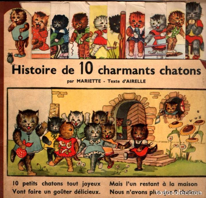 HISTOIRE DE 10 CHARMANTS CHATONS (STRASBOURG, S.F.) GATOS (Libros Antiguos, Raros y Curiosos - Literatura Infantil y Juvenil - Cuentos)