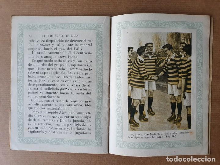 Libros antiguos: Cuento Infantil. El Triunfo de Dun. Ramón Sopena. Barcelona. 1933 - Foto 4 - 215261785