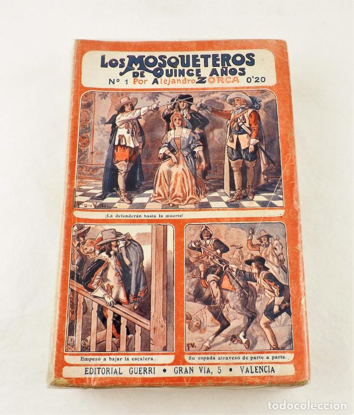 Libros antiguos: Los mosqueteros de quince años (Completa 50 numeros) Guerri - Foto 3 - 215345493