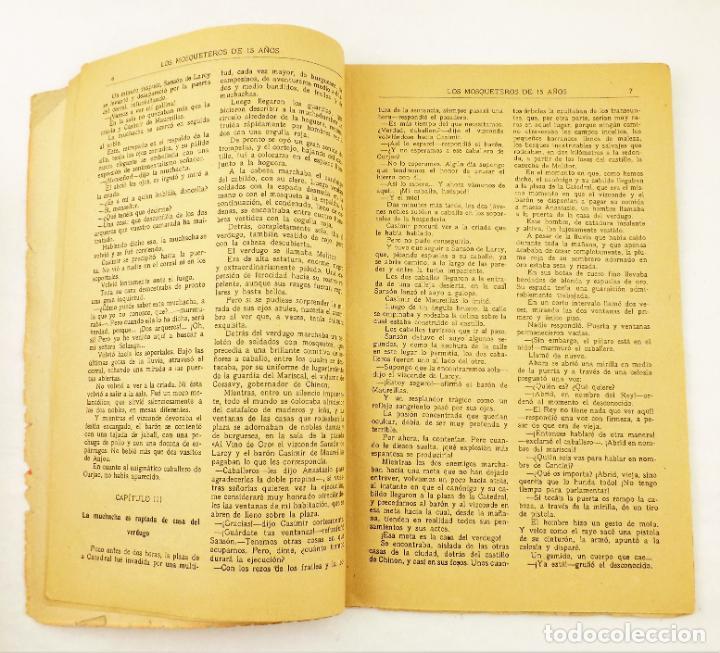 Libros antiguos: Los mosqueteros de quince años (Completa 50 numeros) Guerri - Foto 4 - 215345493