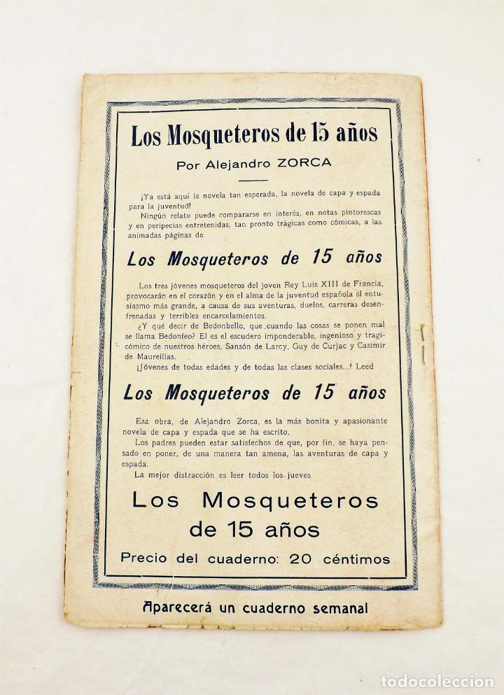 Libros antiguos: Los mosqueteros de quince años (Completa 50 numeros) Guerri - Foto 5 - 215345493