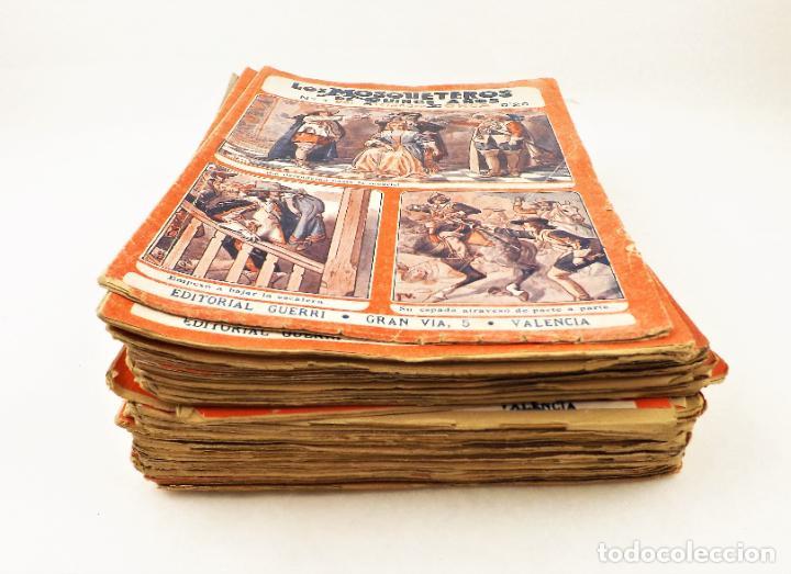 Libros antiguos: Los mosqueteros de quince años (Completa 50 numeros) Guerri - Foto 6 - 215345493