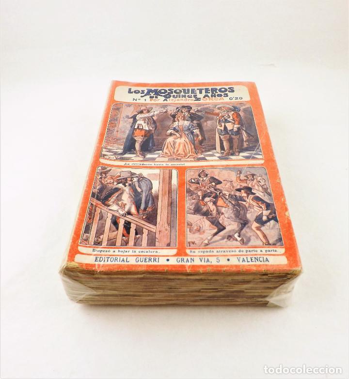 LOS MOSQUETEROS DE QUINCE AÑOS (COMPLETA 50 NUMEROS) GUERRI (Libros Antiguos, Raros y Curiosos - Literatura Infantil y Juvenil - Cuentos)