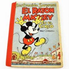 Libros antiguos: CUENTO EL RATÓN MICKEY EN EL CIRCO (POP UP) TROQUELES TRES DIMENSIONES DENTRO. Lote 215370063