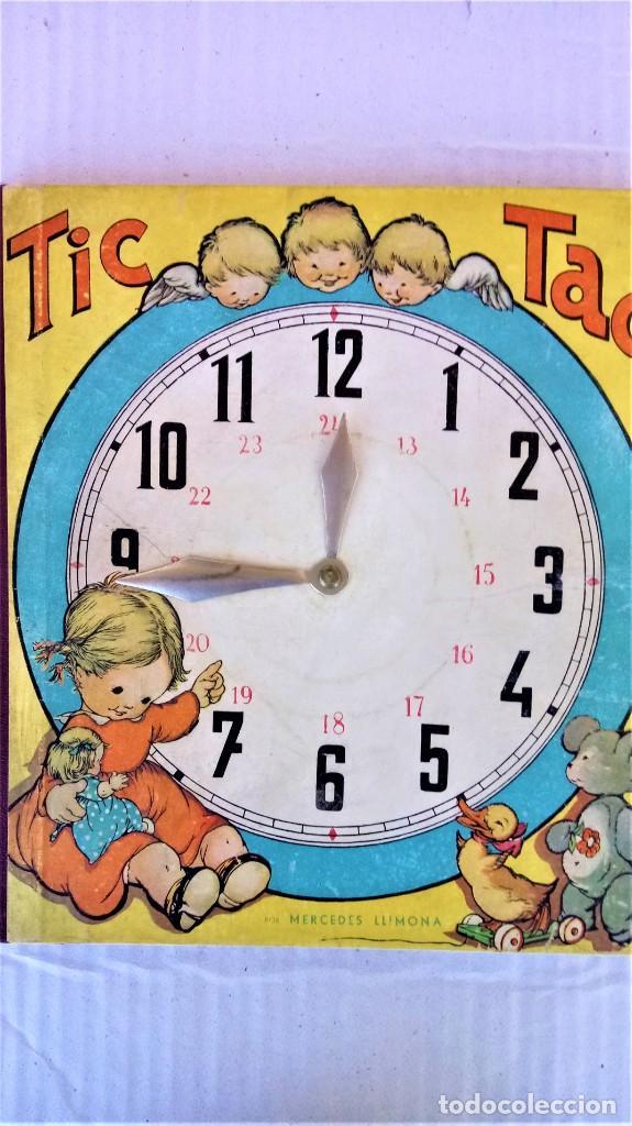 CUENTO RELOJ, TIC TAC, AÑO 1942, DE MERCE LLIMONA,DEDICADO Y FIRMADO,EPOCA LOLA ANGLADA, CATALUÑA (Libros Antiguos, Raros y Curiosos - Literatura Infantil y Juvenil - Cuentos)