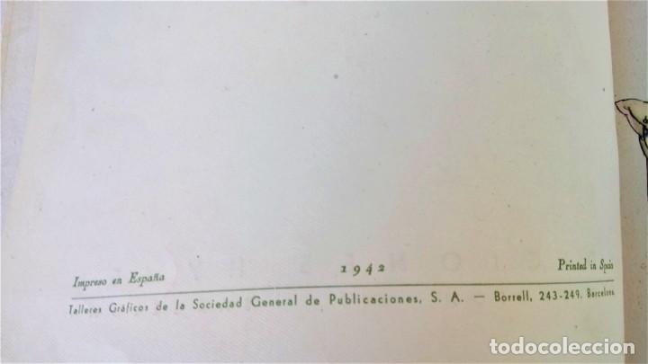 Libros antiguos: CUENTO RELOJ, TIC TAC, AÑO 1942, DE MERCE LLIMONA,DEDICADO Y FIRMADO,EPOCA LOLA ANGLADA, CATALUÑA - Foto 5 - 215936426
