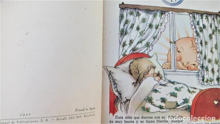 Libros antiguos: CUENTO RELOJ, TIC TAC, AÑO 1942, DE MERCE LLIMONA,DEDICADO Y FIRMADO,EPOCA LOLA ANGLADA, CATALUÑA - Foto 6 - 215936426