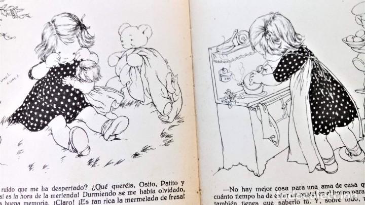 Libros antiguos: CUENTO RELOJ, TIC TAC, AÑO 1942, DE MERCE LLIMONA,DEDICADO Y FIRMADO,EPOCA LOLA ANGLADA, CATALUÑA - Foto 9 - 215936426