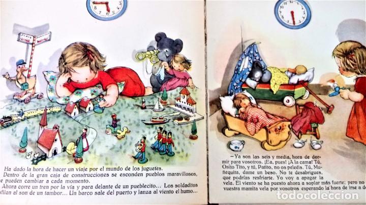 Libros antiguos: CUENTO RELOJ, TIC TAC, AÑO 1942, DE MERCE LLIMONA,DEDICADO Y FIRMADO,EPOCA LOLA ANGLADA, CATALUÑA - Foto 10 - 215936426