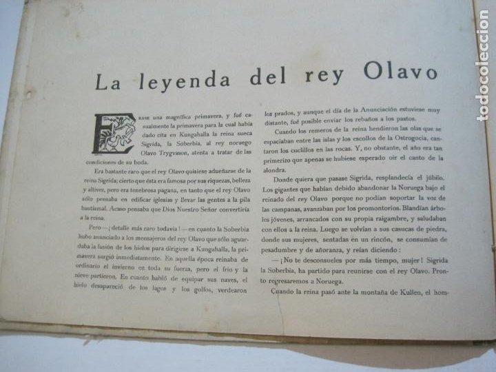 Libros antiguos: LA LEYENDA DEL REY OLAVO-LECTURAS SANTAS-EDITORIAL MUNTAÑOLA-JOSE CARNER-VER FOTOS-(V-22.150) - Foto 12 - 216605412