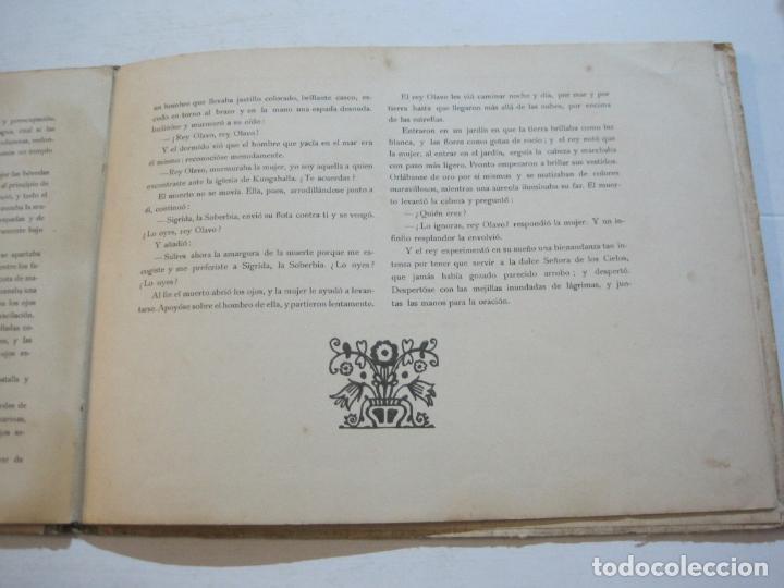 Libros antiguos: LA LEYENDA DEL REY OLAVO-LECTURAS SANTAS-EDITORIAL MUNTAÑOLA-JOSE CARNER-VER FOTOS-(V-22.150) - Foto 19 - 216605412