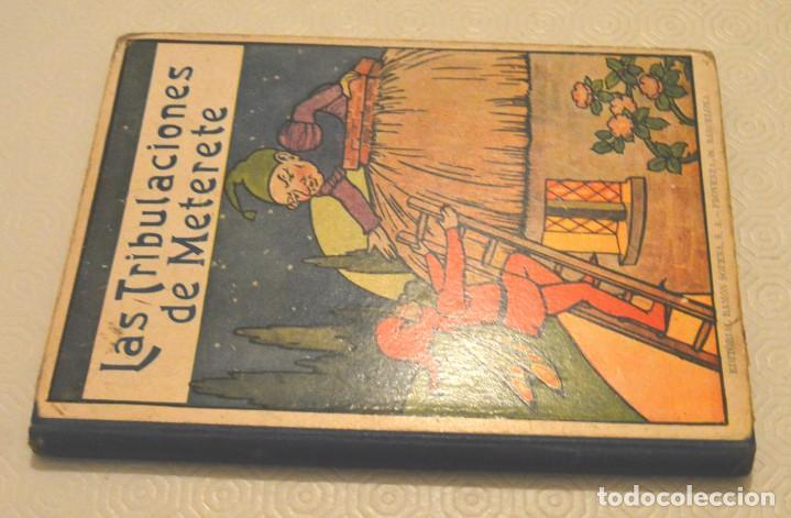 Libros antiguos: LAS TRIBULACIONES DE METERETE - RAMÓN SOPENA - BIBLIOTECA PARA NIÑOS - Foto 2 - 217730298