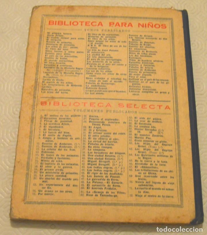 Libros antiguos: LAS TRIBULACIONES DE METERETE - RAMÓN SOPENA - BIBLIOTECA PARA NIÑOS - Foto 3 - 217730298
