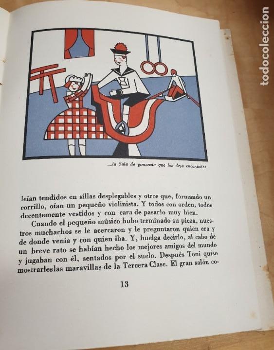 Libros antiguos: CÓMO POMPONCITO Y FALDITA ATRAVESARON EL OCÉANO NAVIGAZIONE GENERALE ITALIANA AÑOS 30 - Foto 3 - 217898558