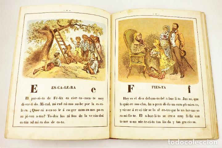 Libros antiguos: Yo sabré leer Alfabeto metódico y divertido (años 30) - Foto 3 - 218485508