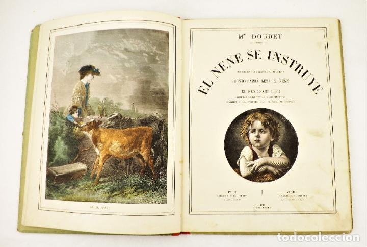 Libros antiguos: Madame Doudet El nene se instruye - Foto 2 - 218486390