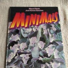 Libros antiguos: MINIMALS /POR: MIQUEL OBIOLS , JOSE RAMON SANCHEZ - EDITA - ALIORNA 1988. Lote 218714230