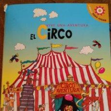 Libros antiguos: POP UP VIVA LA AVENTURA DEL CIRCO PYMY 37. Lote 218725926
