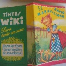 Libri antichi: EL MARAVILLOSO RAMO. CUENTO TIPO CALLEJA. GRAFICA MANEN. BARCELONA PUBLICIDAD TINTES WIKI. Lote 218977012
