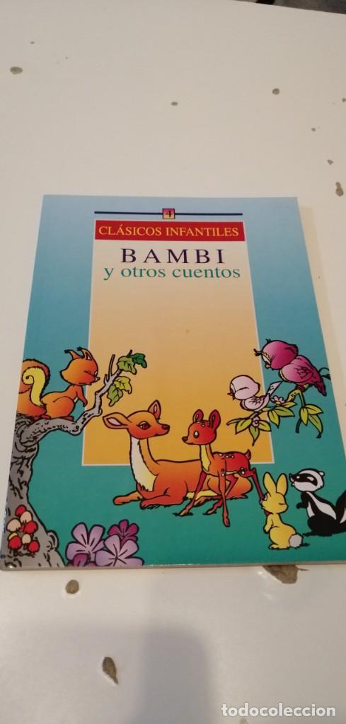 G-43 LIBRO CLASICOS INFANTILES BAMBI Y OTROS CUENTOS (Libros Antiguos, Raros y Curiosos - Literatura Infantil y Juvenil - Cuentos)