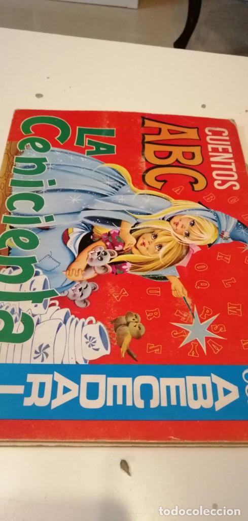 G-43 LIBRO LA CENICIENTA - CUENTOS ABC CON ABECEDARIO (Libros Antiguos, Raros y Curiosos - Literatura Infantil y Juvenil - Cuentos)