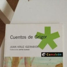 Libros antiguos: G-27 LIBRO CUENTOS DE GRIGOR JUAN KRUZ IGERABIDE. Lote 220895080