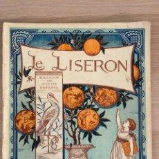 Libros antiguos: WALTER CRANE - LE LISERON - MAGASIN DES PETITS ENFANTS - PARIS - HACHETTE ET CIE - 19TH.. Lote 221247021