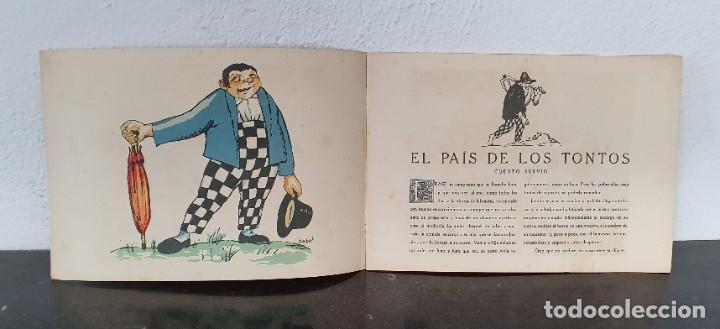 CUENTO: EL PAÍS DE LOS TONTOS - X. NOGUÉS - J. CARNER - 1920 - 1ª EDICIÓN - MUY BONITO. (Libros Antiguos, Raros y Curiosos - Literatura Infantil y Juvenil - Cuentos)