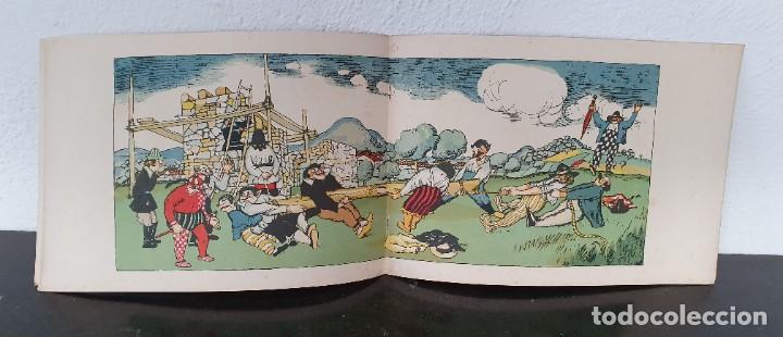 Libros antiguos: CUENTO: EL PAÍS DE LOS TONTOS - X. NOGUÉS - J. CARNER - 1920 - 1ª EDICIÓN - MUY BONITO. - Foto 4 - 221247331