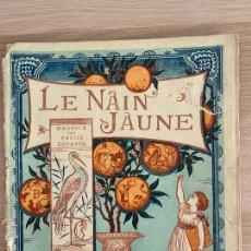 Libros antiguos: WALTER CRANE - LE NAIN JAUNE - MAGASIN DES PETITS ENFANTS - PARIS - HACHETTE ET CIE - 19TH.. Lote 221247741