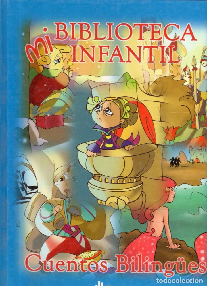 VESIV LIBRO MI BIBLOTECA INFANTIL CUENTOS BILINGUES ESPAÑOL -INGLES TOMO 1 (Libros Antiguos, Raros y Curiosos - Literatura Infantil y Juvenil - Cuentos)