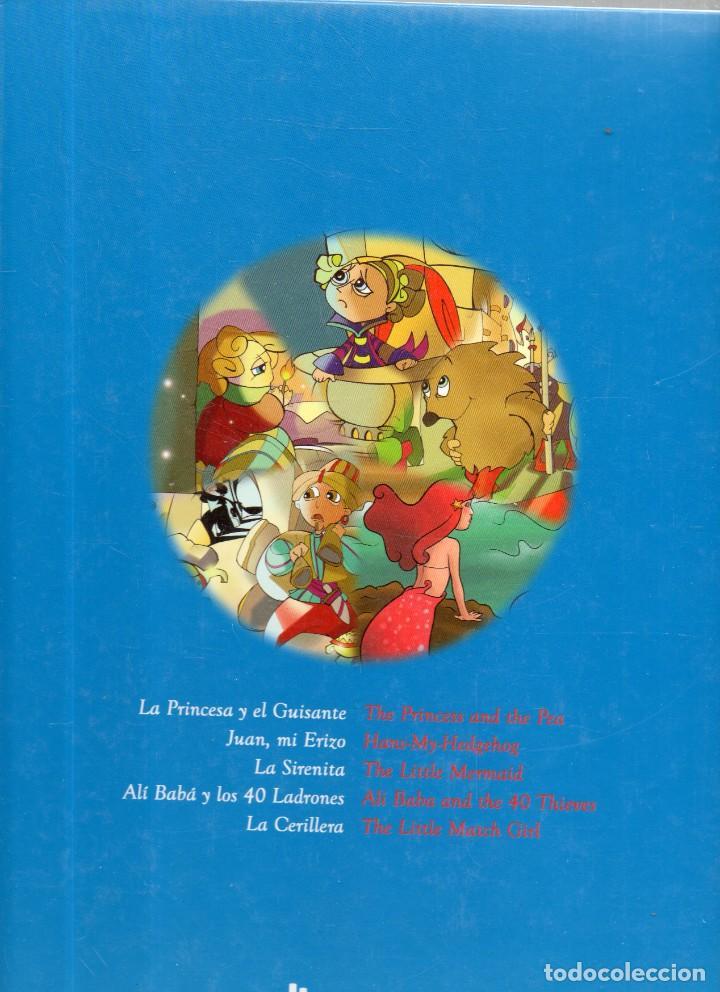 Libros antiguos: VESIV LIBRO MI BIBLOTECA INFANTIL CUENTOS BILINGUES ESPAÑOL -INGLES TOMO 1 - Foto 2 - 221435731