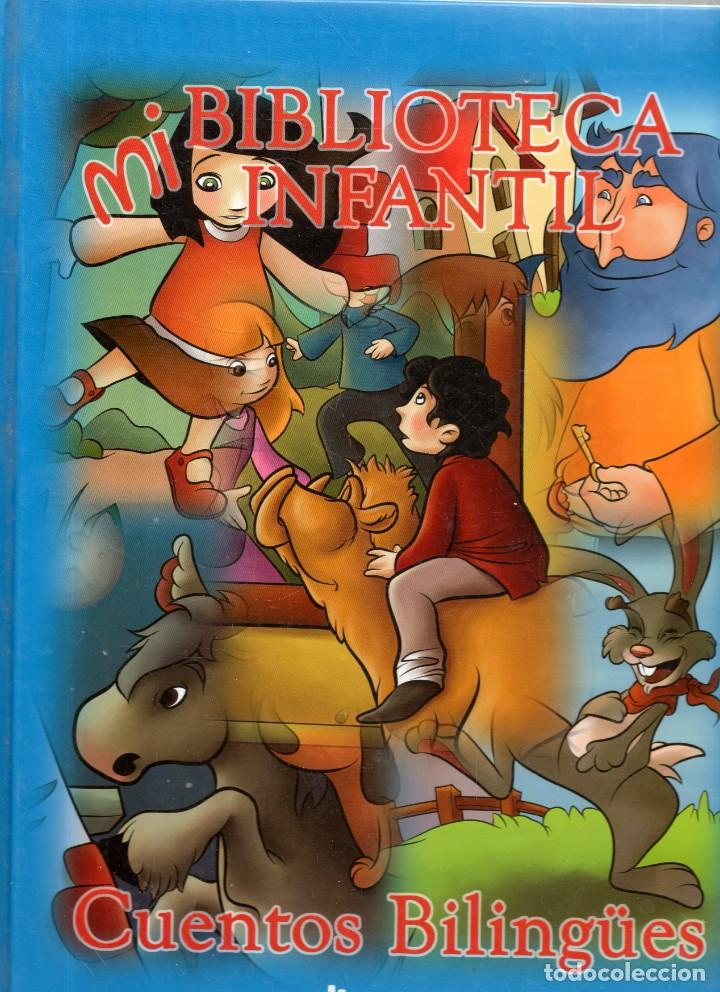 VESIV LIBRO MI BIBLOTECA INFANTIL CUENTOS BILINGUES ESPAÑOL -INGLES TOMO 4 (Libros Antiguos, Raros y Curiosos - Literatura Infantil y Juvenil - Cuentos)