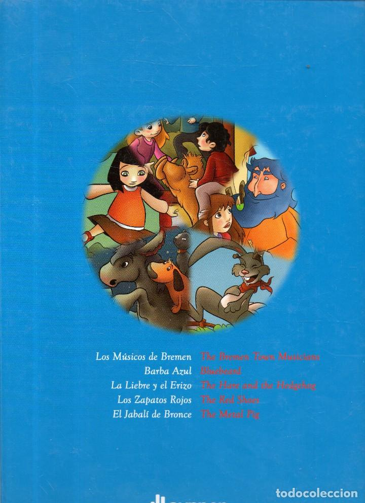 Libros antiguos: VESIV LIBRO MI BIBLOTECA INFANTIL CUENTOS BILINGUES ESPAÑOL -INGLES TOMO 4 - Foto 2 - 221436100