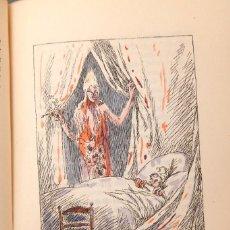 Libros antiguos: CHARLES DICKENS - DER WEIHNACHTSABEND - 1922 - ILUSTRACIONES ILUMINADAS. Lote 221467060