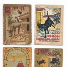 Libros antiguos: 8 CUENTOS DE SATURNINO CALLEJA. MINICUENTOS (1900'). SE VENDEN TODOS O POR UNIDADES. Lote 221714587