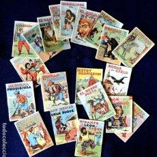Libros antiguos: CUENTOS DE CALLEJA - JUGUETES INSTRUCTIVOS - LOTE; SERIE I, COMPLETA, 20 TOMOS - ORIGINAL - 1900. Lote 221943825