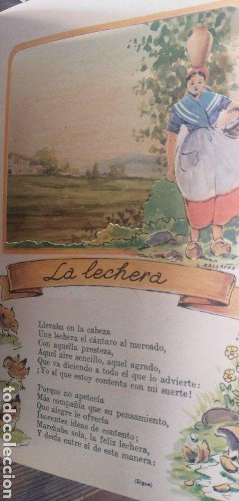 Libros antiguos: Fábulas escogidas. Vol 2. Sistemas y modelos Manen. Linsa. Dibujos Luis Mallarfe. In 4 mayor sin fec - Foto 3 - 222109245