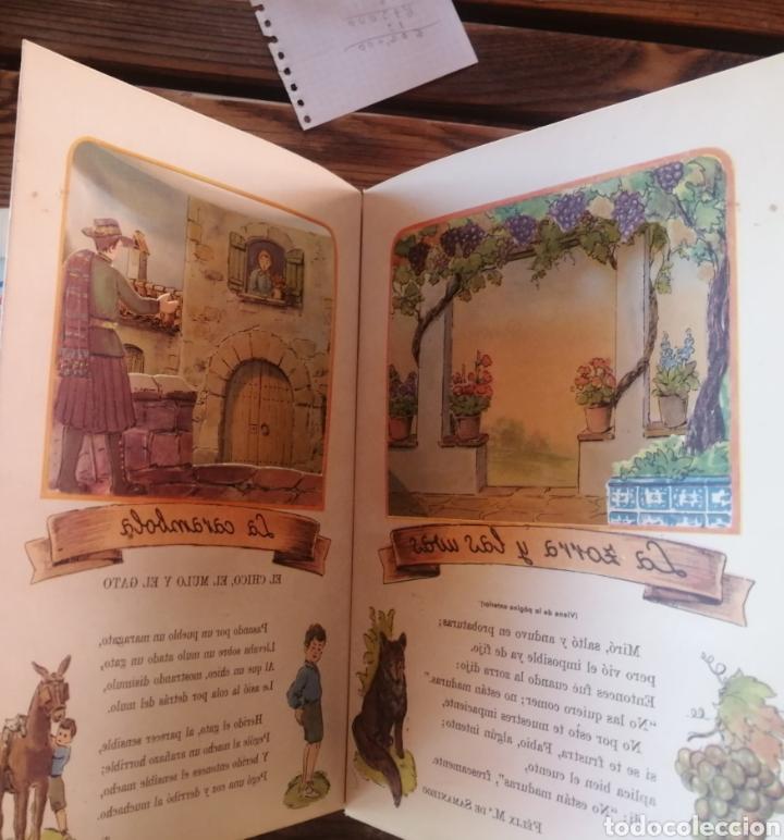 Libros antiguos: Fábulas escogidas. Vol 2. Sistemas y modelos Manen. Linsa. Dibujos Luis Mallarfe. In 4 mayor sin fec - Foto 4 - 222109245