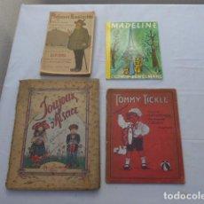 Libros antiguos: * ANTIGUO 4 LIBRO CUENTO EN FRANCES, FRANCIA. ORIGINAL. ZX. Lote 222285360