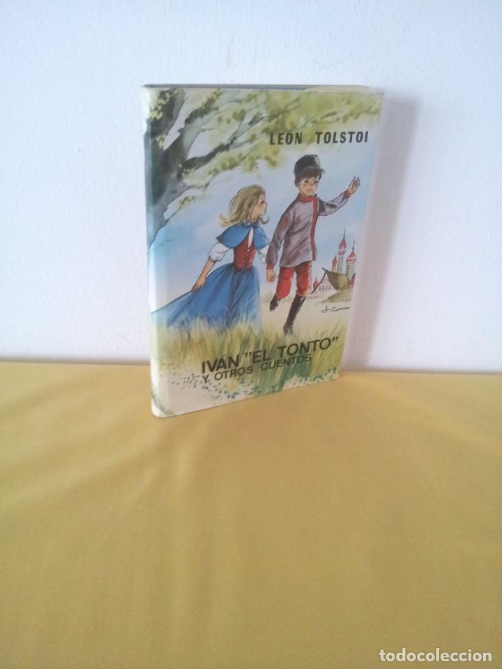 """LEON TOLSTOI - IVAN """"EL TONTO"""" Y OTROS CUENTOS - EDITORIAL LABOR 1970 (Libros Antiguos, Raros y Curiosos - Literatura Infantil y Juvenil - Cuentos)"""