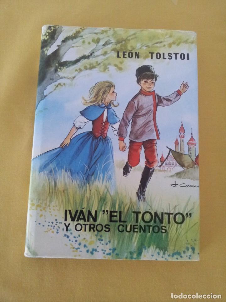 """Libros antiguos: LEON TOLSTOI - IVAN """"EL TONTO"""" Y OTROS CUENTOS - EDITORIAL LABOR 1970 - Foto 2 - 222455700"""